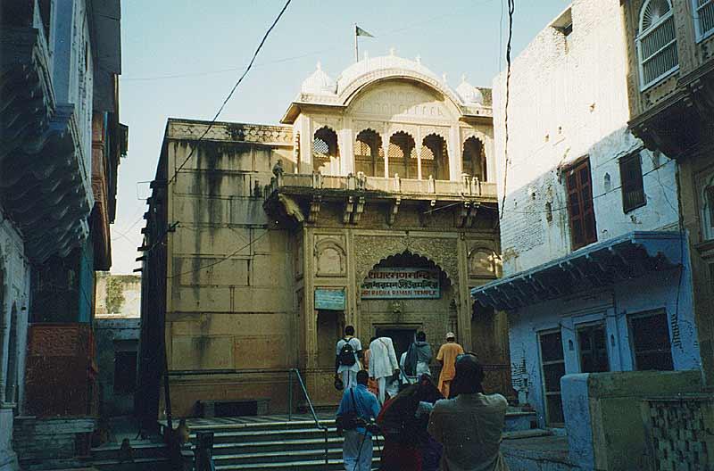 Sri Radha Raman In Vrindavan