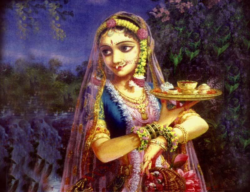 Radharani eight gopis Radharani and