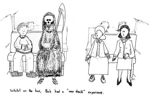 Near Death Cartoon