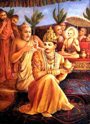 The Tale of Vamana - Bali Chakravarthy - Shukracharya